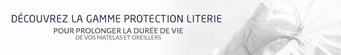 Découvrez notre gamme de protection de literie
