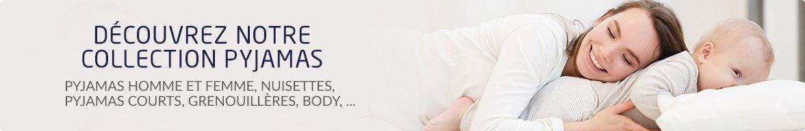 Découvrez notre collection de pyjamas pour toute la famille !