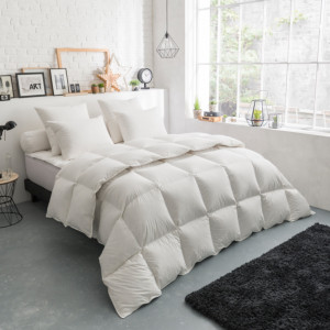 Couette Thermoduv TEMPEREE - 70% Duvet d'Oie
