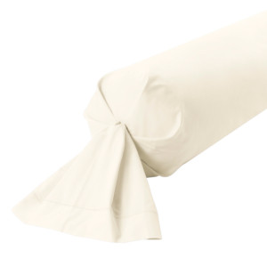 TAIE DE TRAVERSIN PERCALE COLORIS COCO