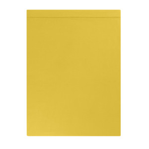 DRAP PLAT SATIN DE COTON COLORIS CURRY