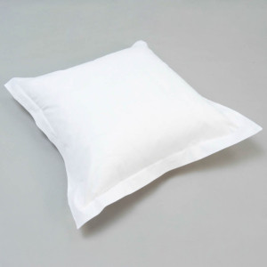 Lot de 2 taies d'oreiller Coton Grand teint Coloris Blanc