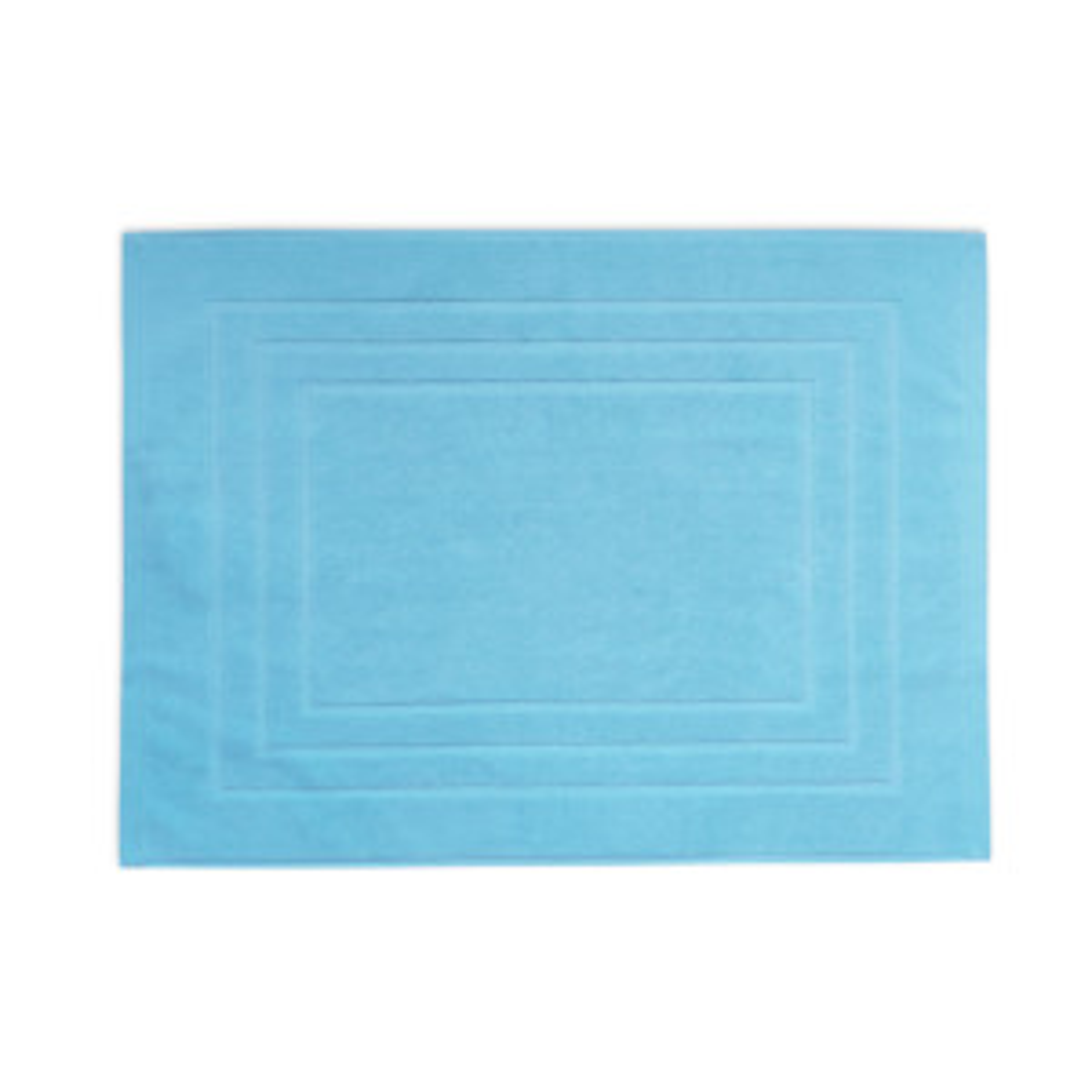 Tapis de bain DODO MINERAL - Coloris TURQUOISE