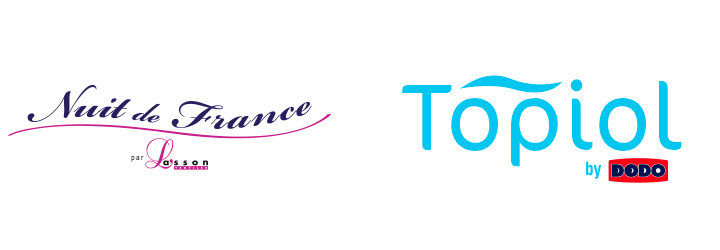 Logos Nuit de France et Topiol